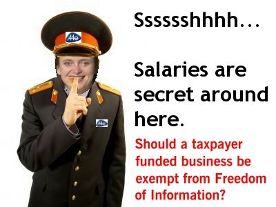 A4e Salaries Are Secret