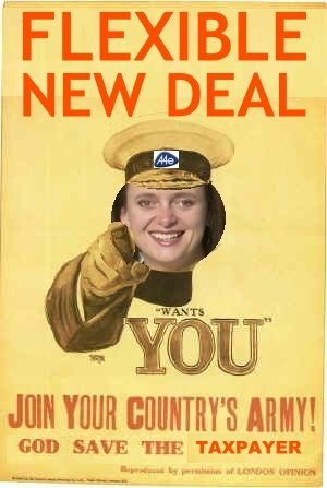 A4e Flexible New Deal Poster Campaign