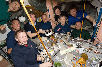 International Buffet on the ISS