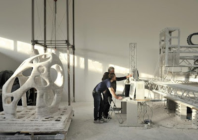 Enrico Dini D-Shape 3D Architectural Printer