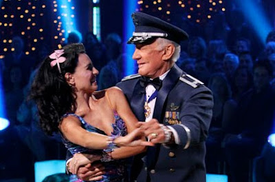 Buzz Aldrun on Dancing With the Stars