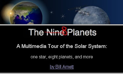 Nine Planets by Bill Arnett