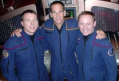 Terry Virts, Scott Bakula, Mike Fincke