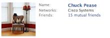 Chuck's Facebook Wall