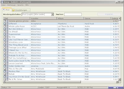 Musik vom iPod in iTunes