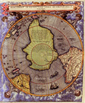Ancient World Maps World Map 16th Century