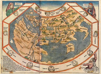 15th Century Map Of Europe.Ancient World Maps World Map 15th Century
