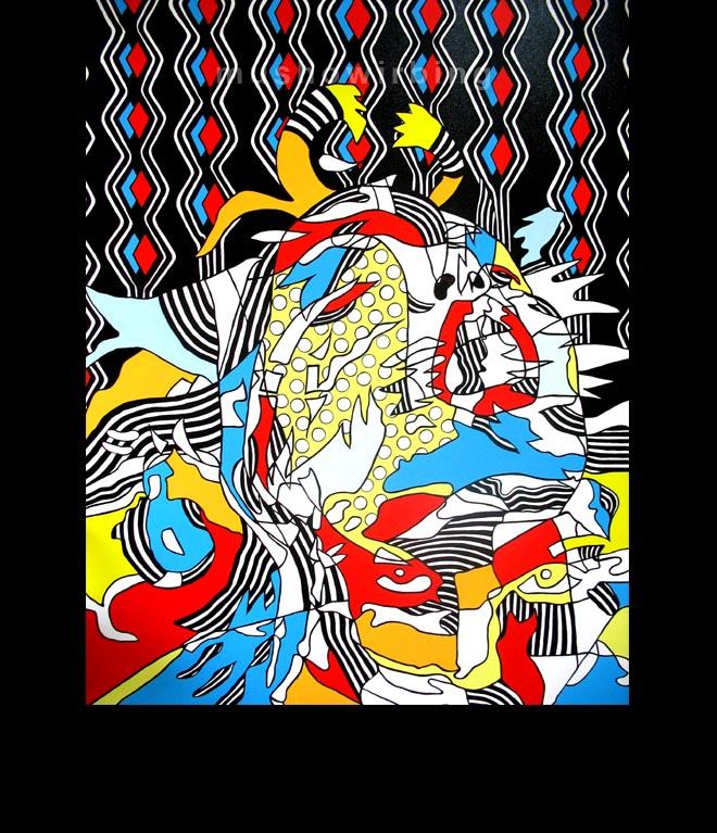 acrylic on canvas 130cm X 160cm