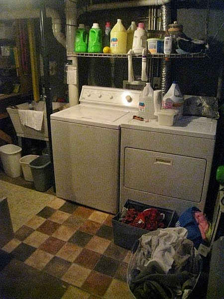 unfinished basement laundry room the laundry area is simply the