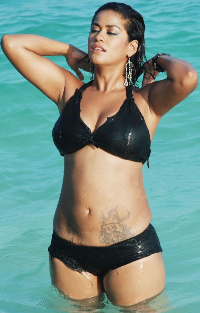 , Mumaith Khan Bikini Wallpapers