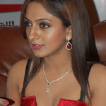 Sizzling Telugu Babe Sheela Hot In Red