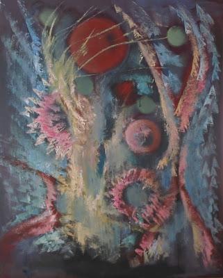 Chisla d'o paradiso - Pintura de Chuan Chusé Bielsa