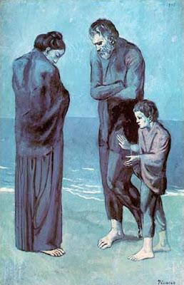 A trachedia, pintura de Picasso
