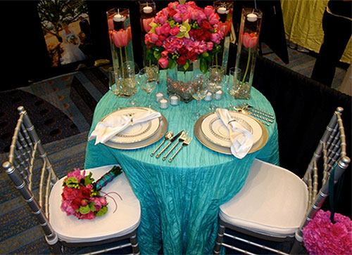 2010 Wedding Color of The Year Turquoise