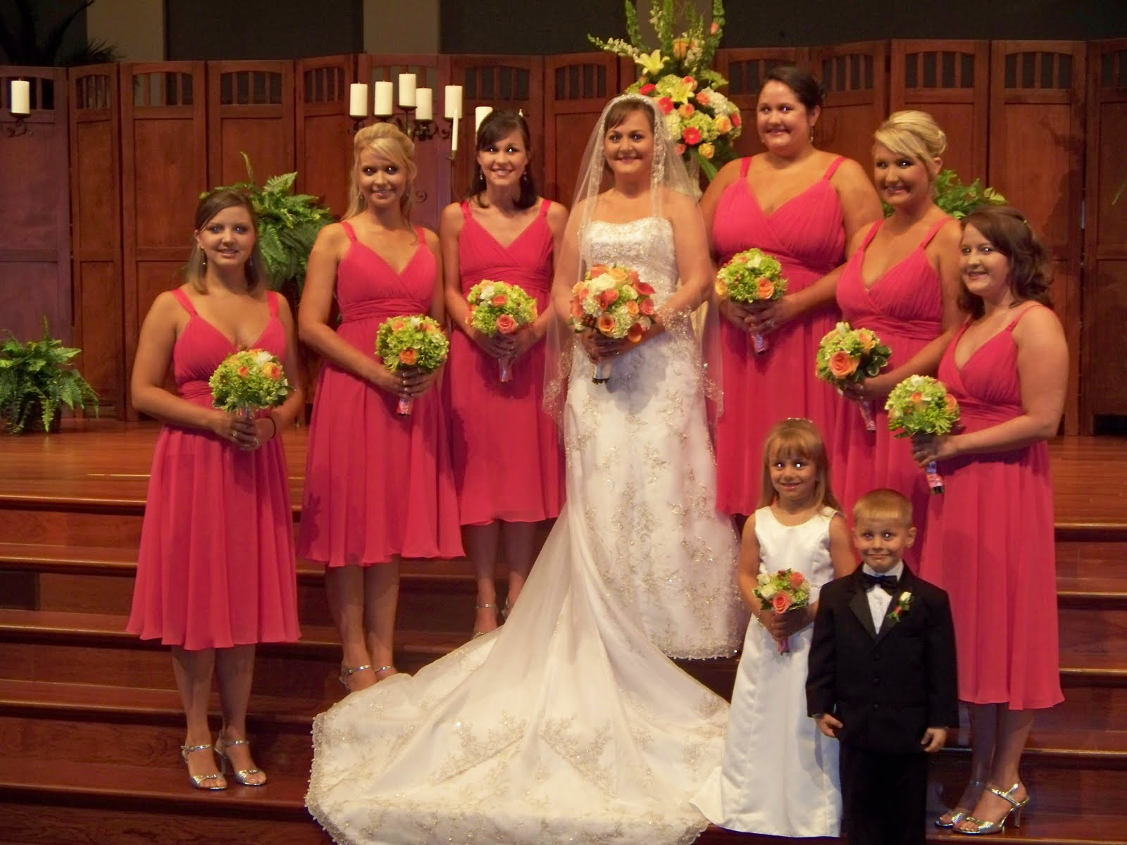 May Wedding Flowers