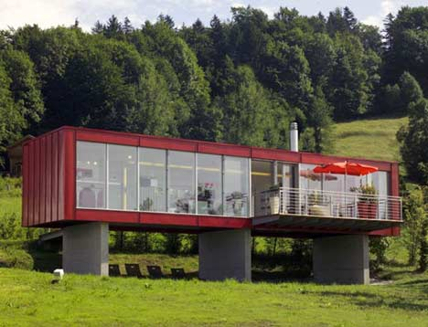 Beautiful Abodes A New Use For Cargo Containers The