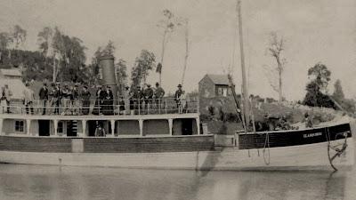 Vapor Llanquihue - Puerto Octay 1904