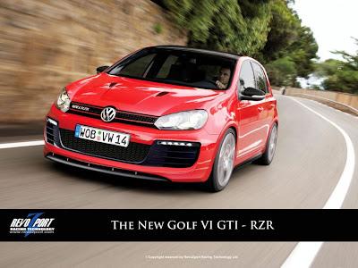 The Exotice VW Golf VI GTI RZR by RevoZport