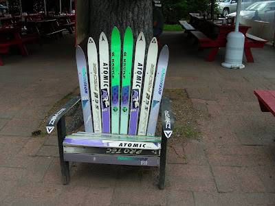 How To Make Adirondack Chairs From Skis