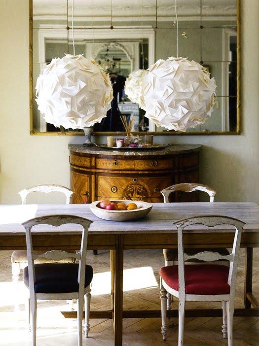 Vintage chic blog decoraci n vintage diy ideas para decorar tu casa l mparas de papel - Decoracion de lamparas de papel ...