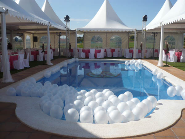 Decoracion piscina organizar una boda foro for Baby k piscinas