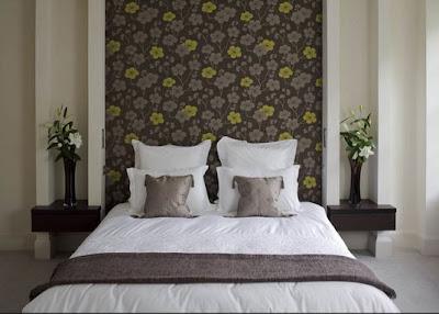 Vintage chic blog decoraci n vintage diy ideas para decorar tu casa cabecero s o no - Cabeceros papel pintado ...