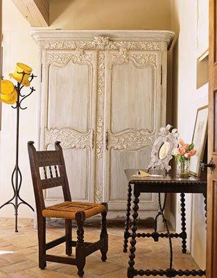 Vintage chic blog decoraci n vintage diy ideas para - Armarios antiguos pintados ...