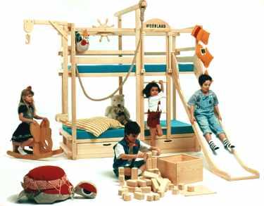 Vintage chic blog decoraci n vintage diy ideas para - Literas infantiles con tobogan ...