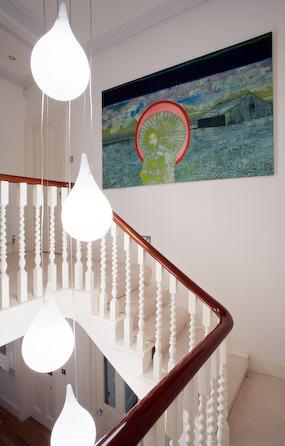 Vintage chic blog decoraci n vintage diy ideas para - Lamparas para escaleras ...