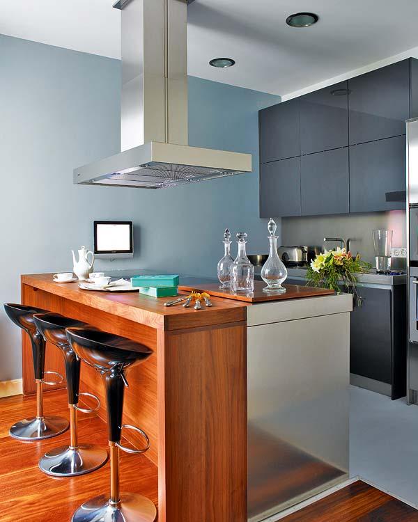 Muebles modernos pablo: barras  desayunador