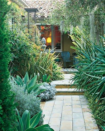 pequeño jardín idea para paisajismo
