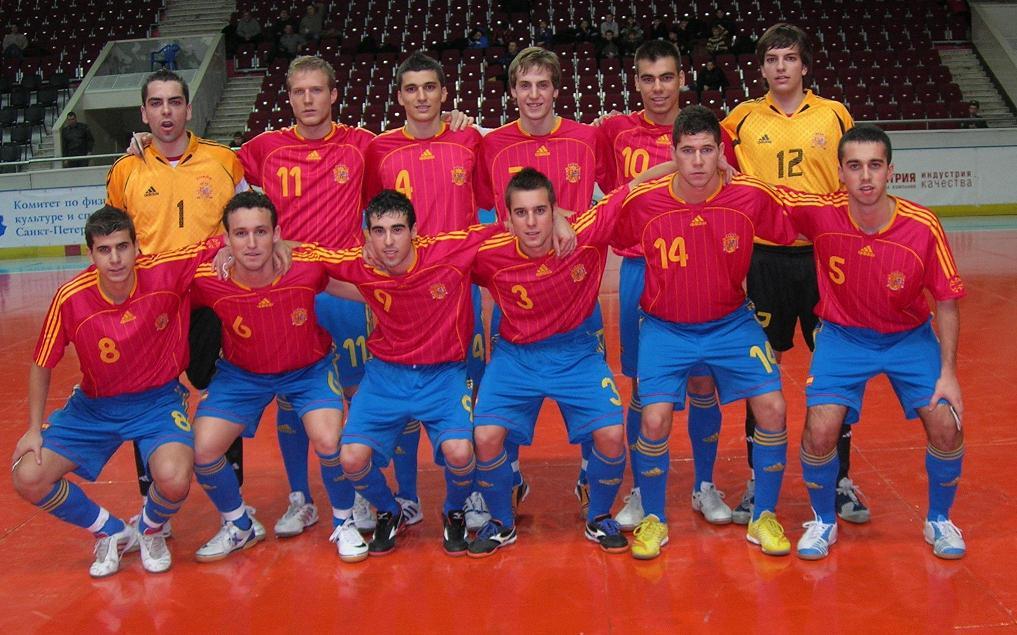 V ctor 39 s blog seleccion espa ola sub 21 futbol sala for Federacion espanola de futbol sala