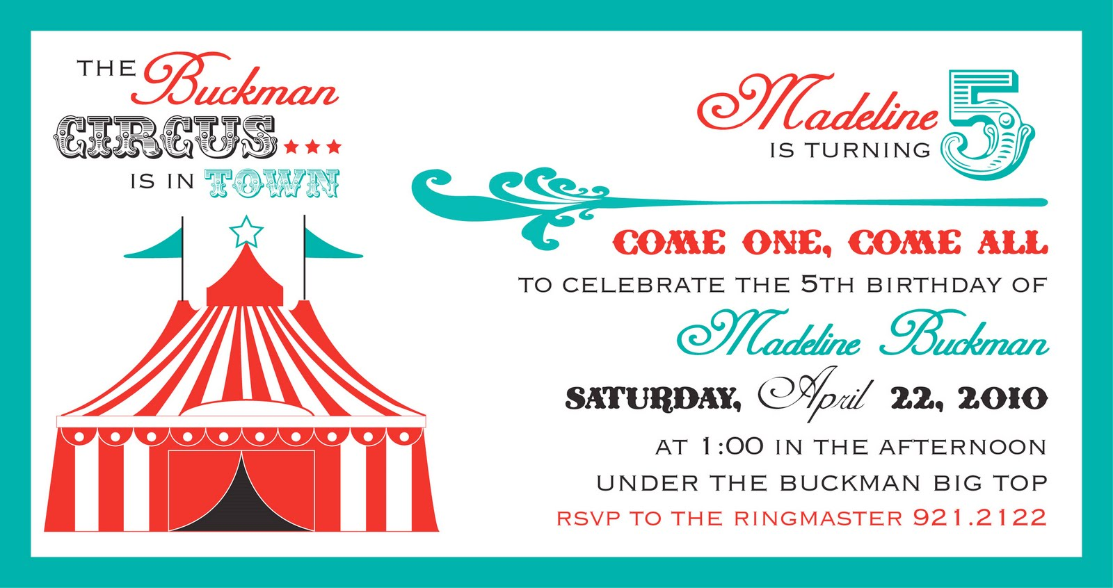 circus party invitations free templates - Kardas.klmphotography.co