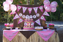 Lauren's Cowgirl Party