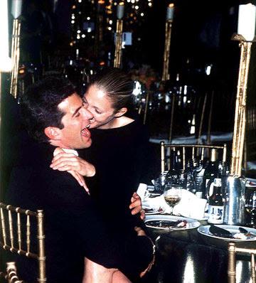 John Kennedy Jr. and Carolyn Bessette