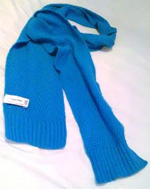 Cavin Klein funky knit scarf