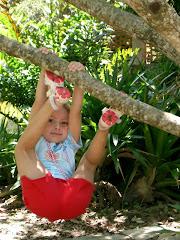 pequenina no Jardim Botânico