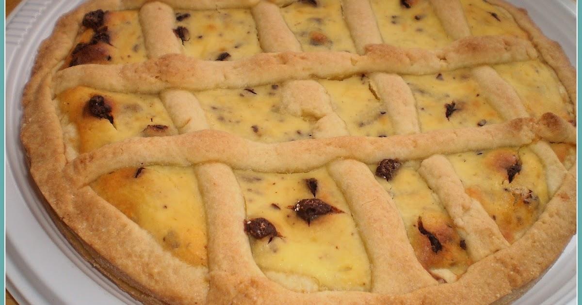 Cucina pasticci crostata ricotta e cioccolato - Cucina e pasticci ...