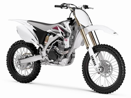 This is a Yamaha YZ 450.