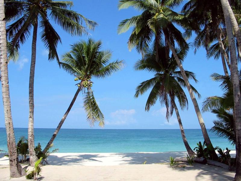 Philippines Manila Beaches. southeast of Manila.