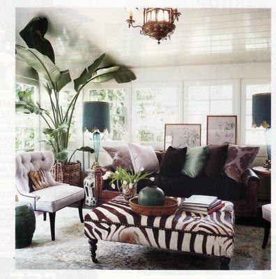 Wind lost and then came windsor smith for Living room ideas zebra