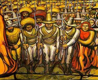 La unidad morelos el arte en la revoluci n mexicana for Definicion de pintura mural