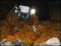 robot coal mine