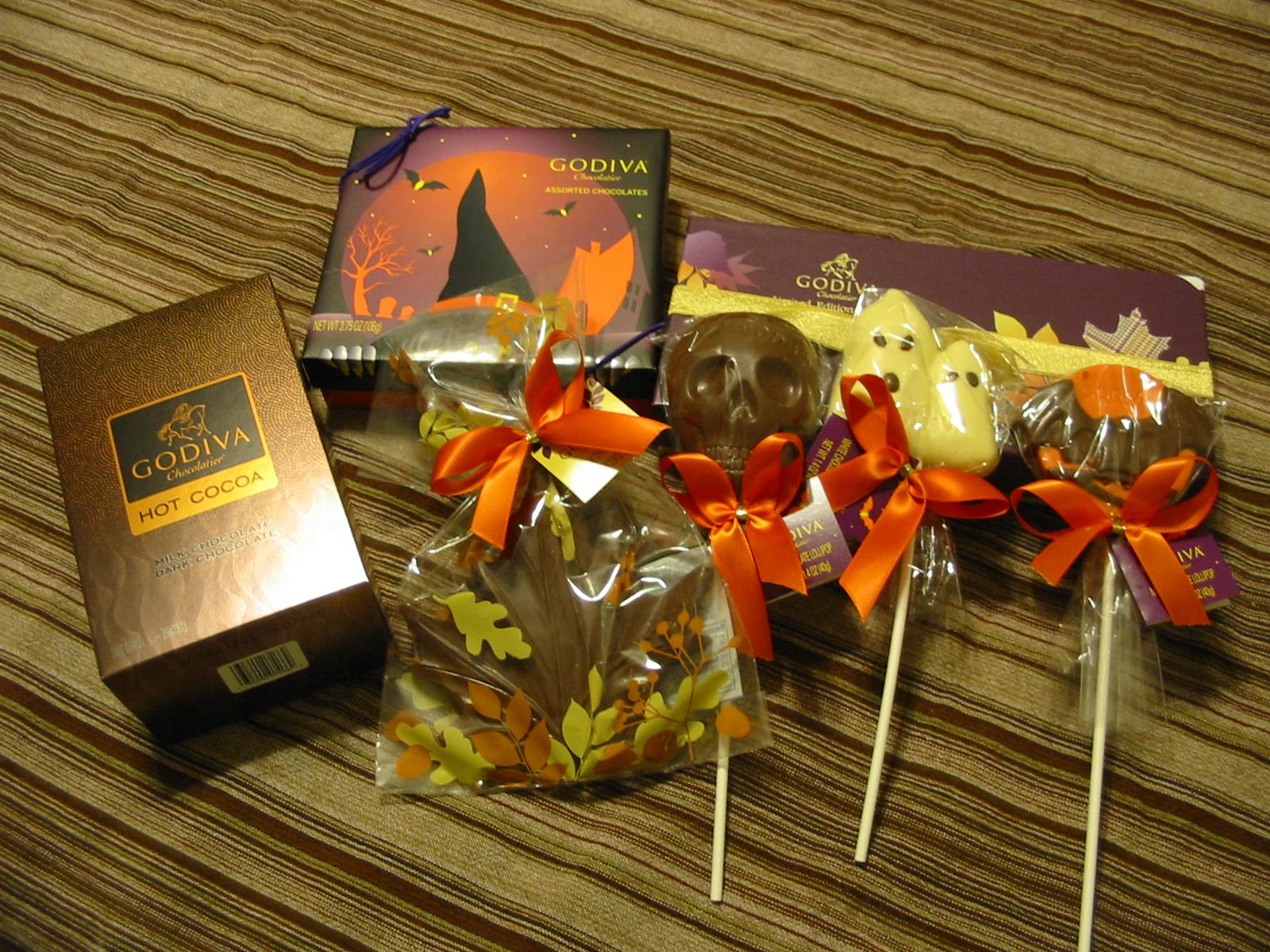 The Chocolate Cult: Godiva Halloween/Fall 2010