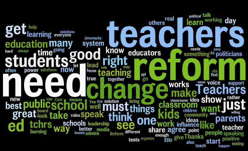 Essay on education reform