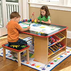 Momma Mia Playroom Organization Ideas