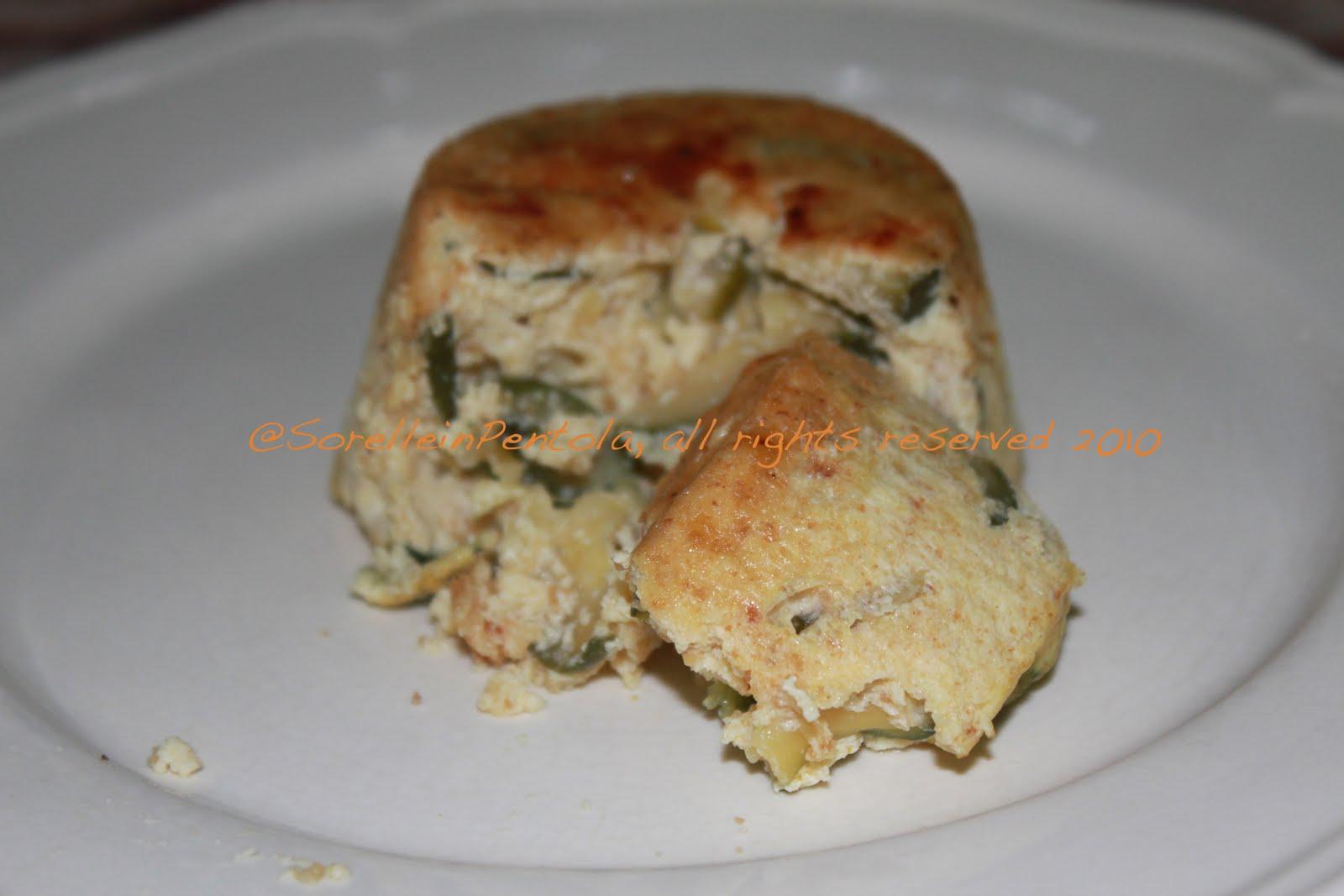 Preferenza Sorelle in pentola: Tortino di zucchine al curry ZX96
