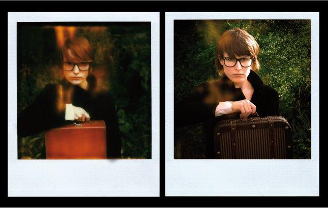 la femme a la valise