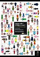 Официальный постер Международного дня родного языка-2009