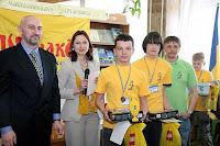 Фото с организаторами